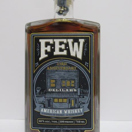 F.E.W.Delilah's 23th Anniversary bottling