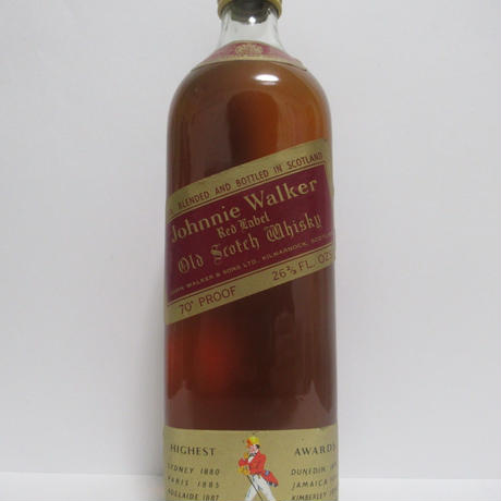 JOHNNIE WALKER - RED LABEL (1970s) - 75CL
