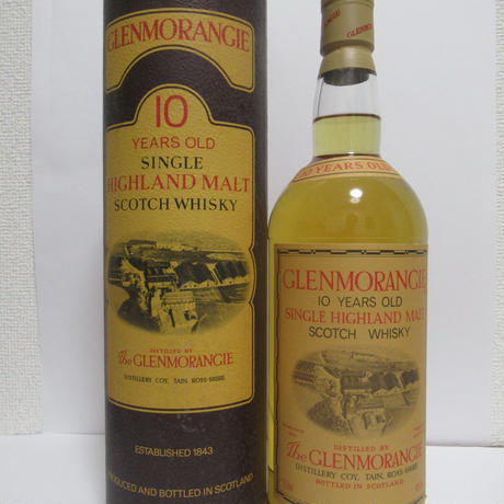 GLENMORANGIE 10 YEAR OLD 1980'S