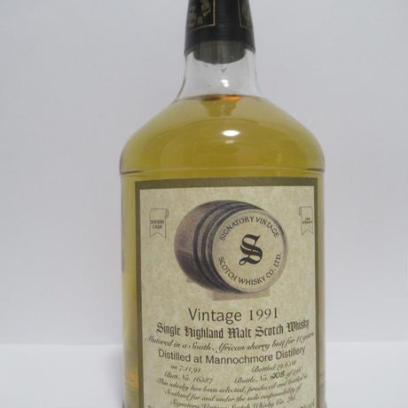 Mannochmore 1991 11 Year Signatory Vintage
