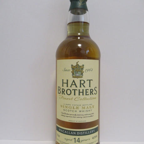 Macallan 14 Year Old Hart Bros Finest Collection マッカラン14年