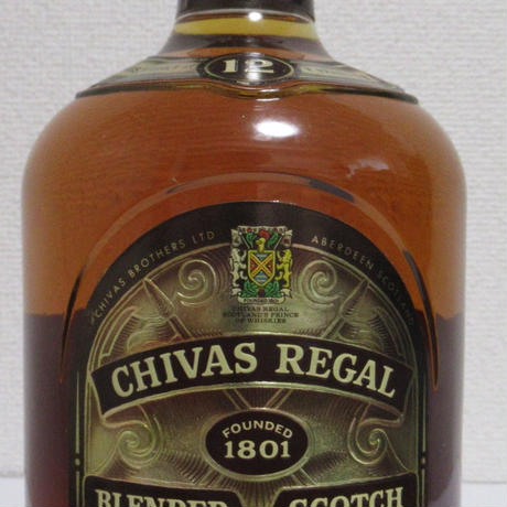 Chivas Regal 12year 1990s 1.13ltre