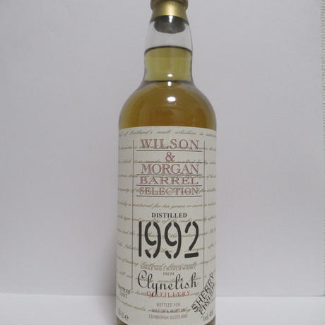 Clynelish 1992 Wilson&Morgan Barrel Selection