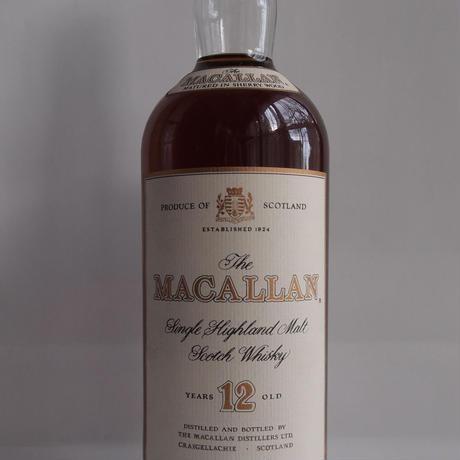 マッカラン12年 1リッター 1990年代流通品