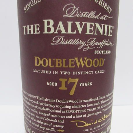 Balvenie 17year Double Wood