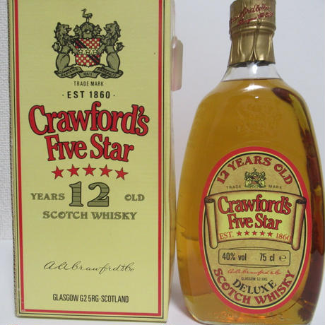 CRAWFORD'S FIVE STAR BLEND 1980'S