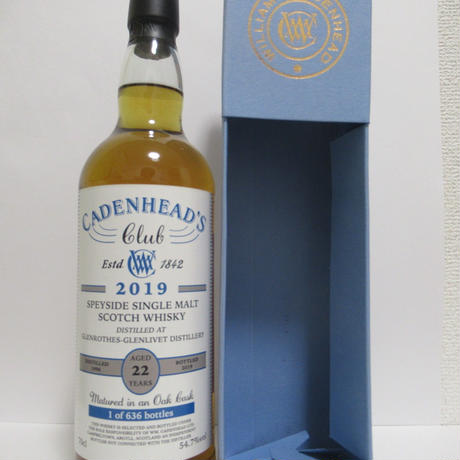 Glenrothes - 22 Year Old (Cadenhead's)