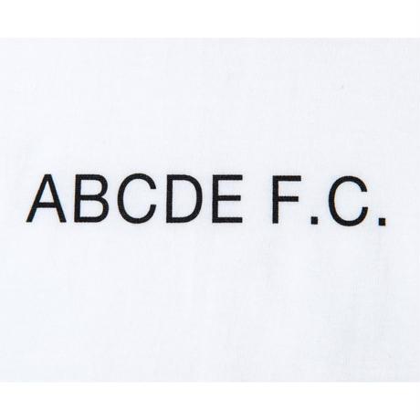 SHUKYU × Masanao Hirayama / ABCDE F.C. TEE (White)