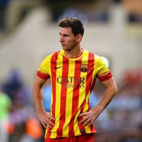 Equipo. - Barcelona Away 2013/14 Maskit