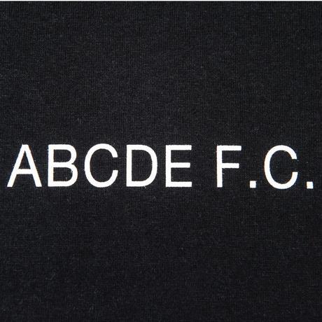 SHUKYU × Masanao Hirayama / ABCDE F.C. TEE (Black)
