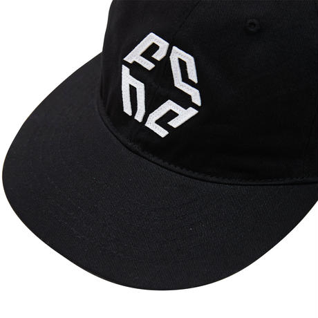 NIVELCRACK -   LOGO 6 PANEL CAP (Black)