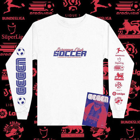Gegenpresse - European Club Soccer (L/S TEE+Zine)