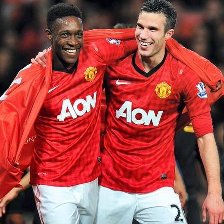 Equipo. - Manchester United 2012/13 Maskit