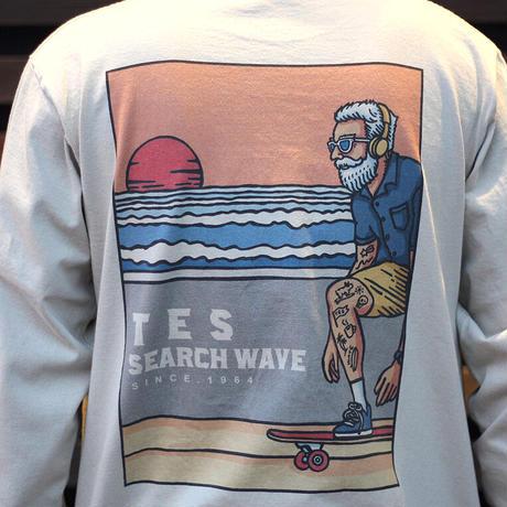 TES/テス  HURRICANE SURFER LONG SLEEVE T-SHIRT