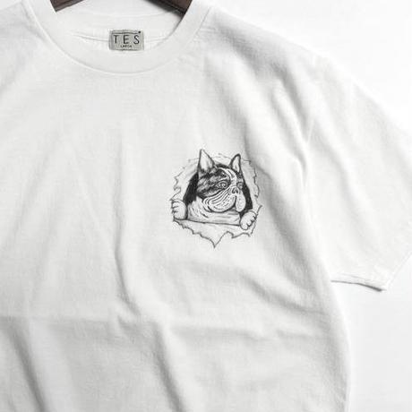 TES RIPPER BUHI T-SHIRT / プリントTシャツ