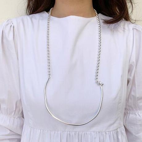 Sea'ds mara/シーズマーラ Combination ball chain Necklace 20A1-22
