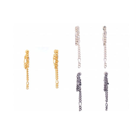 Sea'ds mara/シーズマーラ Chain Pierce - Chain Earring 19AE2-26