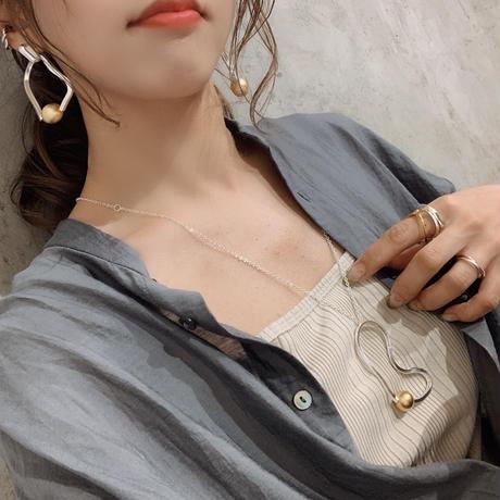 Sead's mara/シーズマーラ /Meander necklace (20A3-61)
