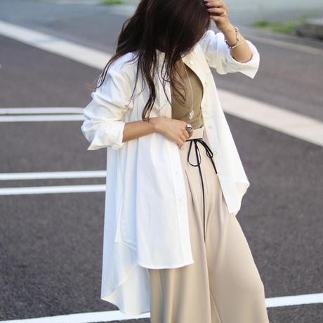 mariedor ラウンドロングシャツ 12154