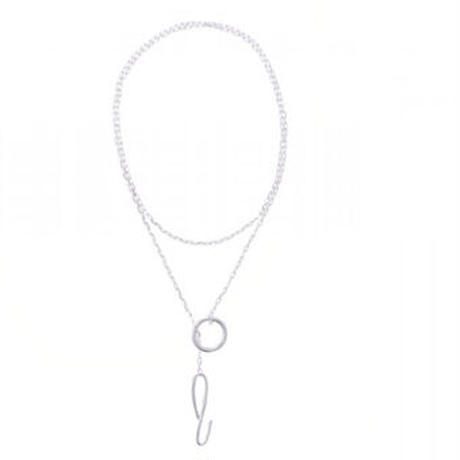 Sea'ds mara/シーズマーラ Crochet hook motif necklace /21A1-06