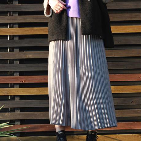 Dignite collier/ディニテ コリエ ランダムプリーツスカート