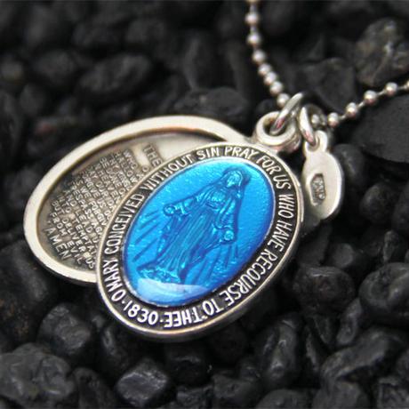 amp japan/Color Mary Locket -BLUE-
