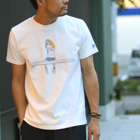 TES MALIBU GIRL T-SHIRT / プリントTシャツ