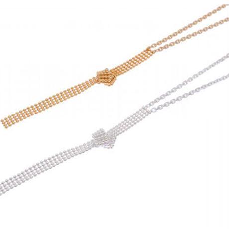 Sea'ds mara/シーズマーラ Quattro ball necklace/ 21A1-11