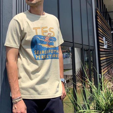 TES MALIBU SURFER T-SHIRT プリントTシャツ