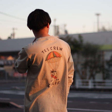 TES/テス TES SKATE HOLIC BUHI LONG SLEEVE T-SHIRT NV-1374310