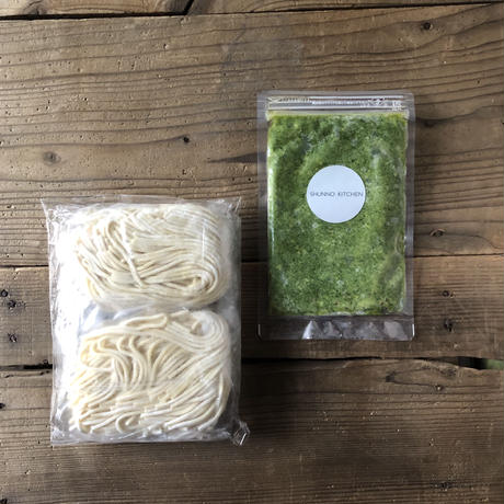 PASTA  for TWO MINT GENOVESE