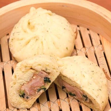 小松菜豚角煮まん [2ヶ入り]