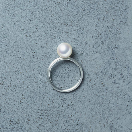 shuo13011 Tansui Pearl Ring (Mat)