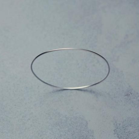 shuo18003  K18WG Bangle(1,2mm)