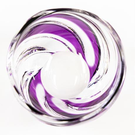 渦 ぐい呑 -金紫-