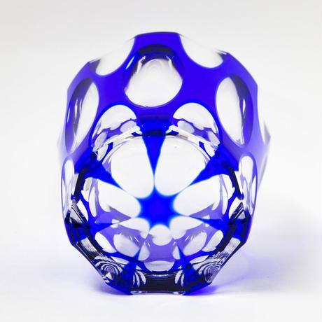 紬 ロックグラス -瑠璃-