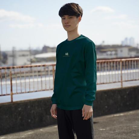カジュアルロングTシャツ【グリーン】