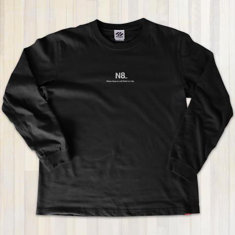 カジュアルロングTシャツ【ブラック】
