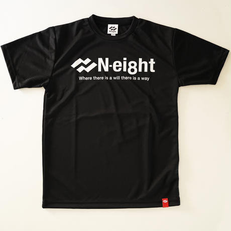 スタンダードロゴドライTシャツ【ブラック】