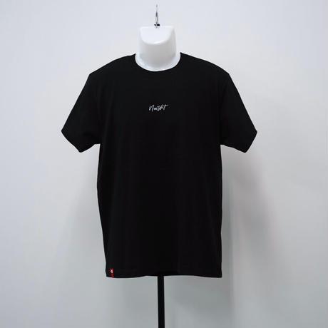 シンプルロゴTシャツ【ブラック】