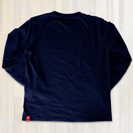 カジュアルロングTシャツ【ネイビー】