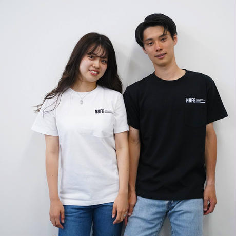N8FBポケット付きTシャツ【ホワイト】
