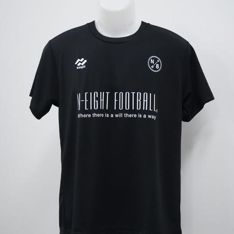 N8FBドライTシャツ【ブラック】