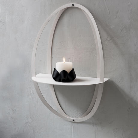 Halo shelf - White -