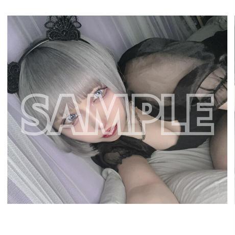 【ソロチェキ】メルクソロチェキ!黒猫ver【限定20枚】