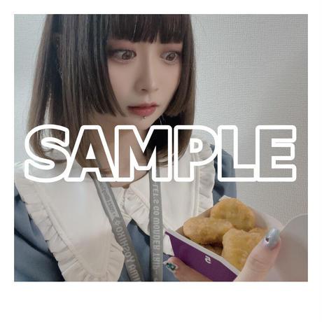 【ソロチェキ】100個!マックナゲットを食べ切るまで帰れませんチャレンジ!(2021.9.15)【限定各10枚】