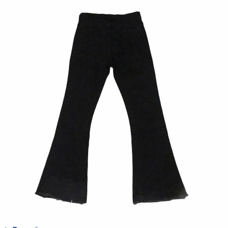 boots cut black pants