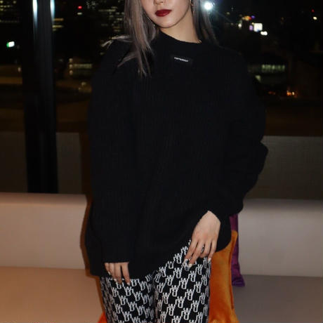 black big knit ※unisex item