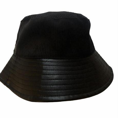 HAT (fake lether ✖️ corduroy ) ※unisex item