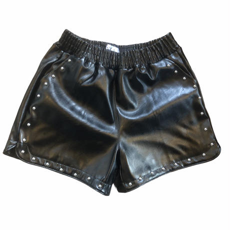 studs fakelether short pants